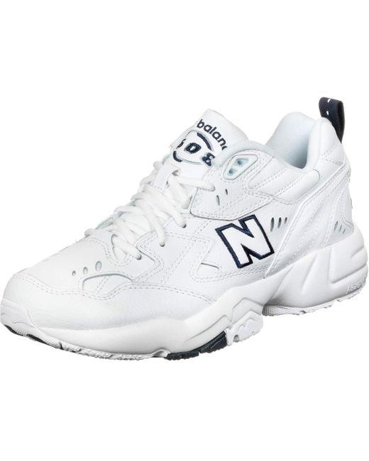 Homme 608v1 New Balance pour homme en coloris Blanc - 66 % de ...