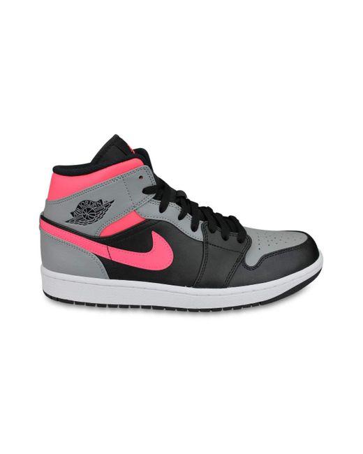 Air Jordan 1 Mid Noir - 47,5 Nike pour homme en coloris Noir - Lyst