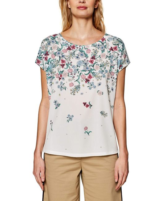 039EO1K030 T-Shirt di Esprit Collection in White