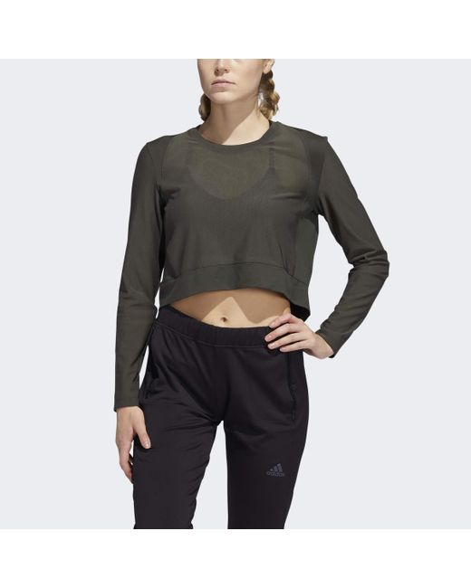 T-shirt léger pour femme Legend Earth Taille XL Adidas en coloris Multicolor