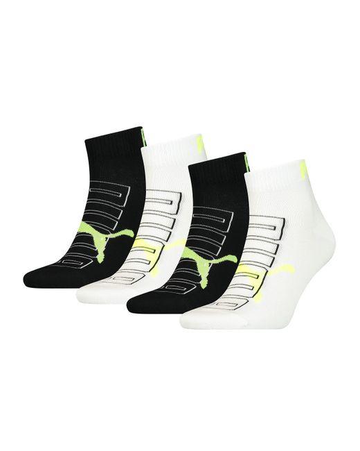 Outline Quarter Sock Chaussettes s avec Logo Contour PUMA pour ...