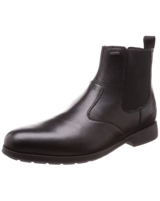 Geox U HILSTONE Wide NP ABX D Chelsea Boots in Black für Herren