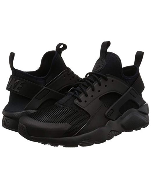 139508fdea5f ... Nike - Air Huarache Run Ultra Shoe Gymnastics White black for Men - Lyst  ...