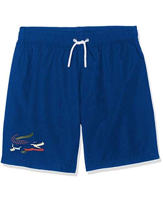Short de Bain - Lacoste pour homme en coloris Blue