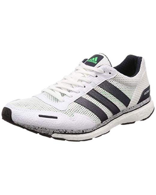 Adidas Adizero Adios 3 Men's Running Shoes   Core Black