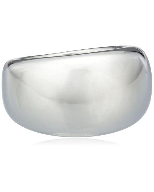 Bague - Acier Inoxydable - T Esprit en coloris Metallic