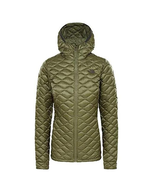 The North Face Green Thermoball Pro Hoodie Jacket Tnf Black Matte 2018 Winter Jacket