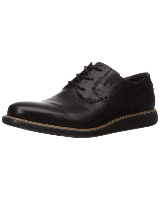 Rockport Total Motion Sports Dress Plain Toe in Black für Herren