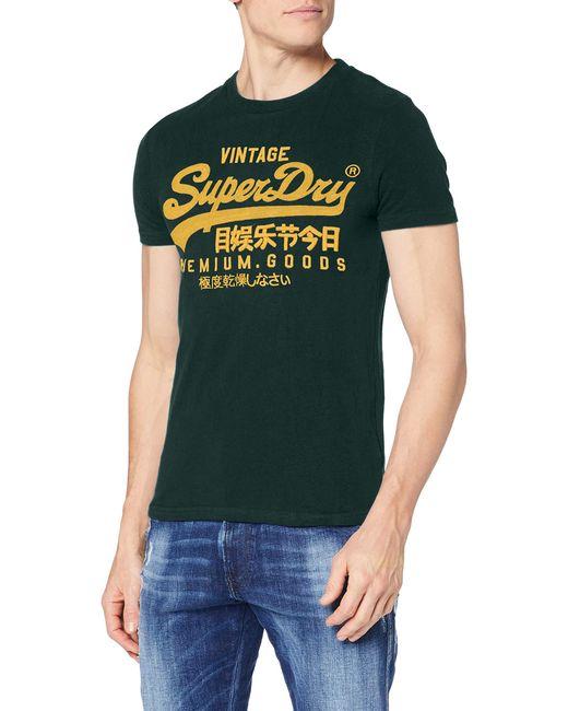 Superdry Green Vl Off Piste Tee T-shirt for men