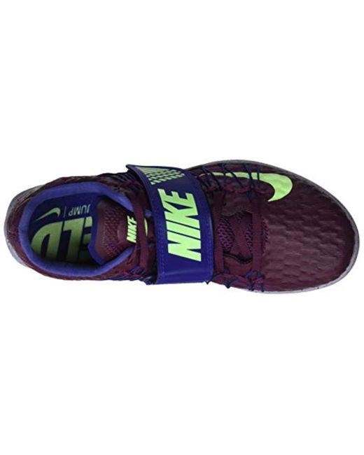 37a17f4e9b139 Nike Unisex Adults Triple Jump Elite Track & Field Shoes in Purple ...