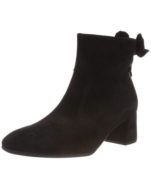 Gabor Black Shoes Basic Stiefeletten