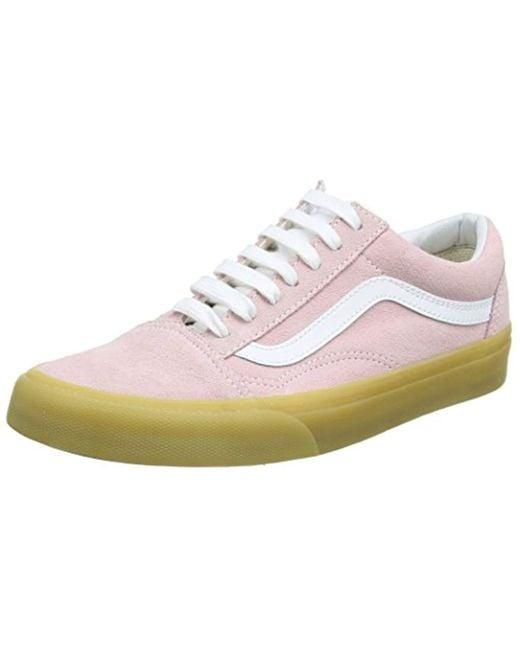 0f0f4db947c04 Pink Unisex Adults' Old Skool Trainers