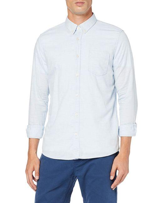 Tom Tailor Floyd Strukturiertes Freizeithemd in Blue für Herren