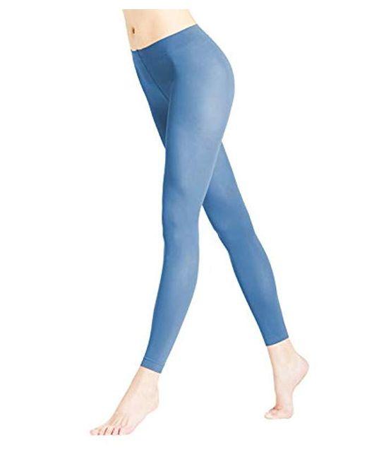 Falke Blue Leggings Semi-opaque Matt, 50 Den