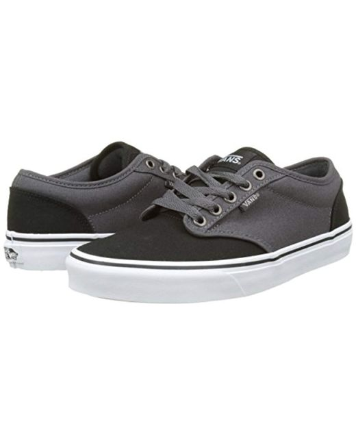 a68ff2fd73a733 ... Vans - Black Mn Atwood Low-top Sneakers for Men - Lyst ...