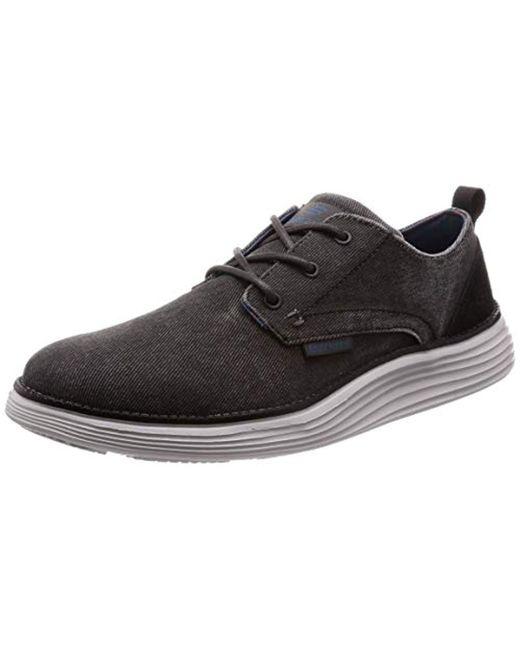 Status 2.0 Pexton, Zapatos de Cordones Derby para Hombre Skechers de hombre de color Black