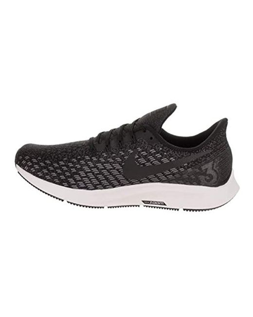 new product 17964 460d8 Men's Black Air Zoom Pegasus 35 Competition Running Shoes
