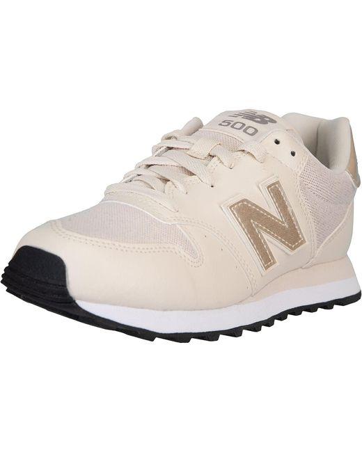 NB 500 Baskets pour femme New Balance en coloris Neutre - Lyst
