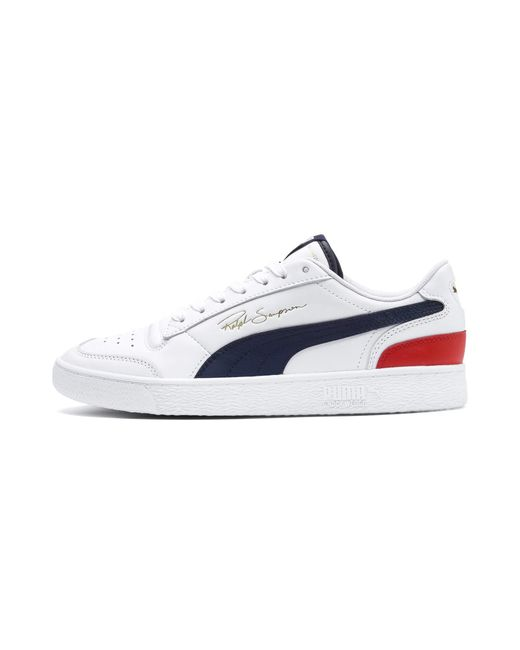Baskets x Ralph Sampson Lo Blanc Tricolore PUMA pour homme en coloris White