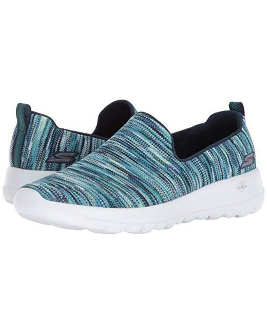 Women's Blue Go Walk Joy 15615 Wide Sneaker