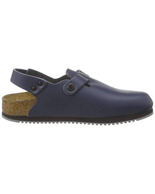 size 40 f64b3 17083 Classic Tokio Leder, Unisex Adults' Clogs, Blue (blau), 41 N Eu