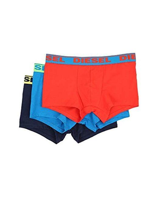 Boxers - Multicolore - Pack de 3 DIESEL pour homme en coloris Blue