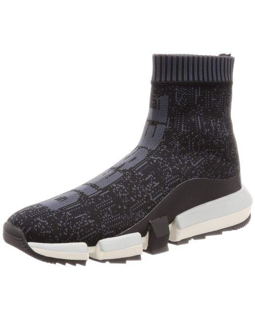 DIESEL H-PADOLA Sock-Sneaker mid Turnschuh in Black für Herren