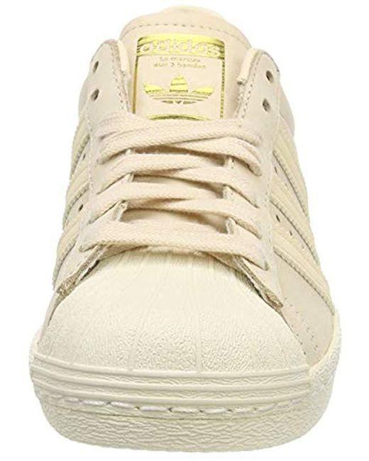 b22673262f5fd adidas Superstar 80s W Gymnastics Shoes in Pink - Lyst