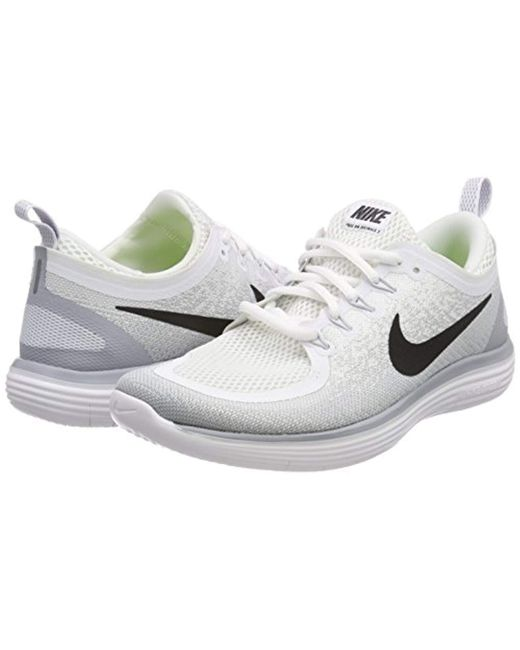 san francisco aecff 5d6a4 Nike Free Rn Distance 2 Running Shoes in Gray for Men - Save ...