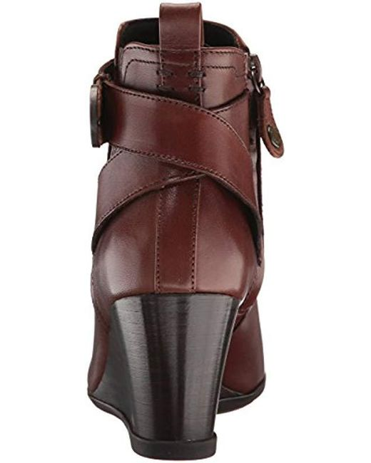 d93684f8ee101 ... Geox - Brown D Inspiration Wedge D Boots - Lyst ...