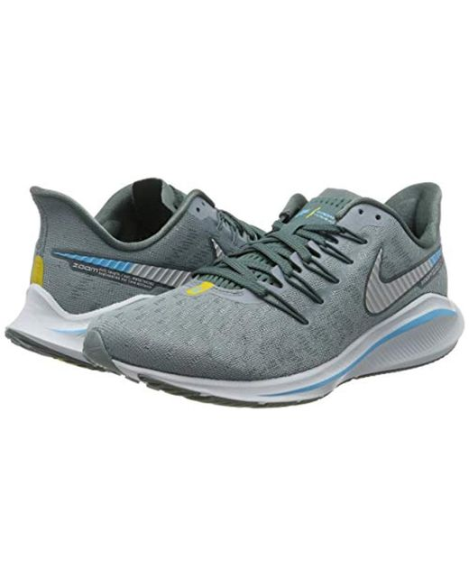 516e4e129bd0c Nike Air Zoom Vomero 14 Running Shoes in Gray for Men - Lyst