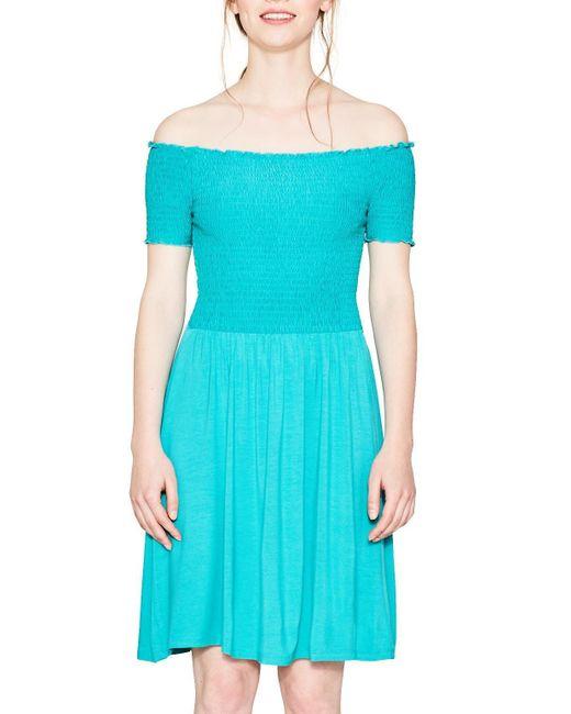 067ee1e018 Robe Esprit en coloris Blue