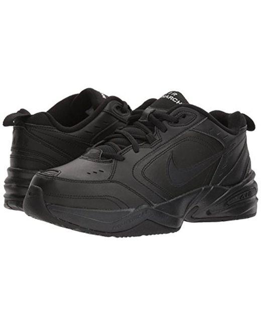 ... Nike - Air Monarch Iv Athletic Shoe, Black/black, 12.0 Regular Us for  ...
