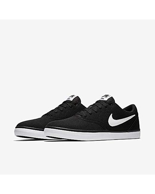 Nike Sb Check Solar Basketball Shoes in Black (BlackWhite