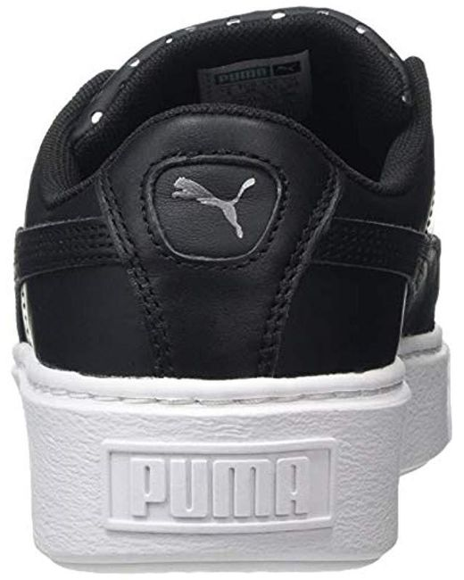 Casual Scarpe Puma Wmns Platform Kiss Suede (Nero Gum