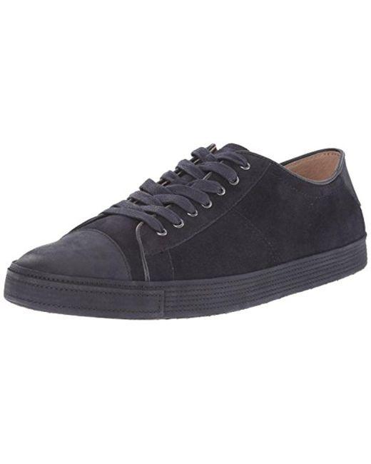 John Varvatos - Blue Mick Low Fashion Sneaker for Men - Lyst