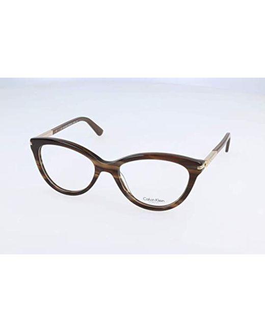 d0c30b8ffa Monturas de gafas, Marrón (Brown), 50.0 para Mujer Calvin Klein de ...