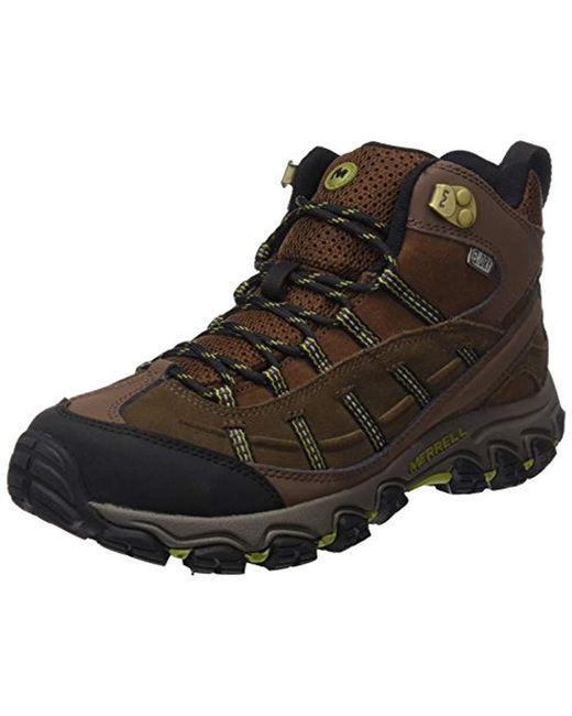 1288be181f7 Men's Black Terramorph Mid Waterproof High Rise Hiking Boots