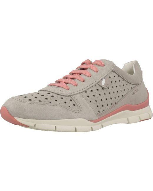 Geox Gray D Sukie a Sneaker