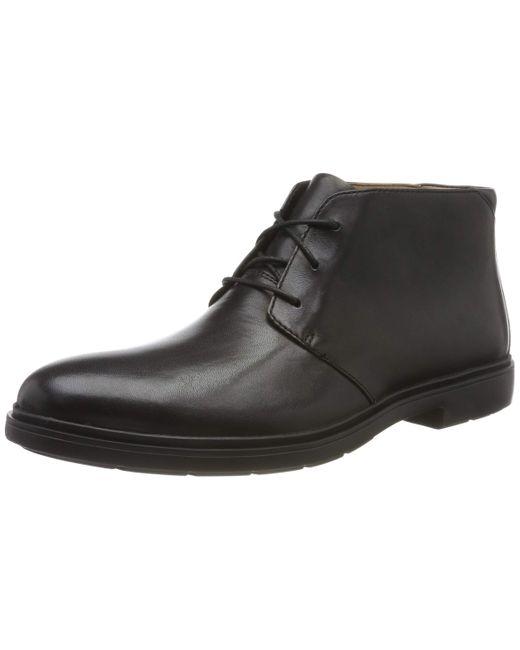 Clarks Un Tailor Mid Chukka Boots in Black für Herren