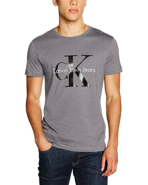 Tee Re-Issue Cn Regu Camiseta de Tirantes Calvin Klein de hombre de color Gray