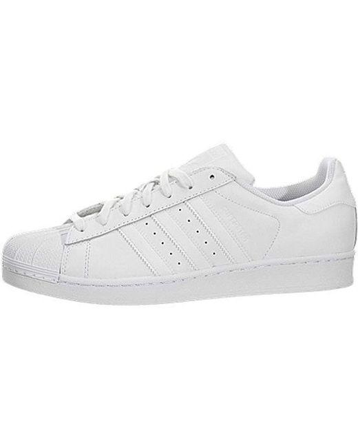 f8865b503554 Adidas Originals - White Superstar Running Shoe for Men - Lyst ...