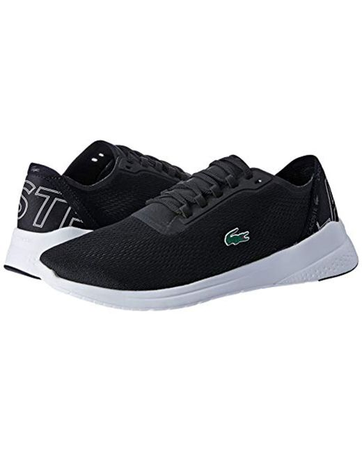 0ec58e423f3b7 Lacoste Lt Fit 119 1 Sma Trainers in Black for Men - Lyst