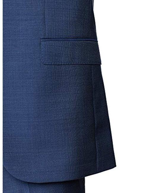 sports shoes 0c4fd 8bbc7 Herren Astian/Hets182V1 3-teiliger Anzug. per pack in blau