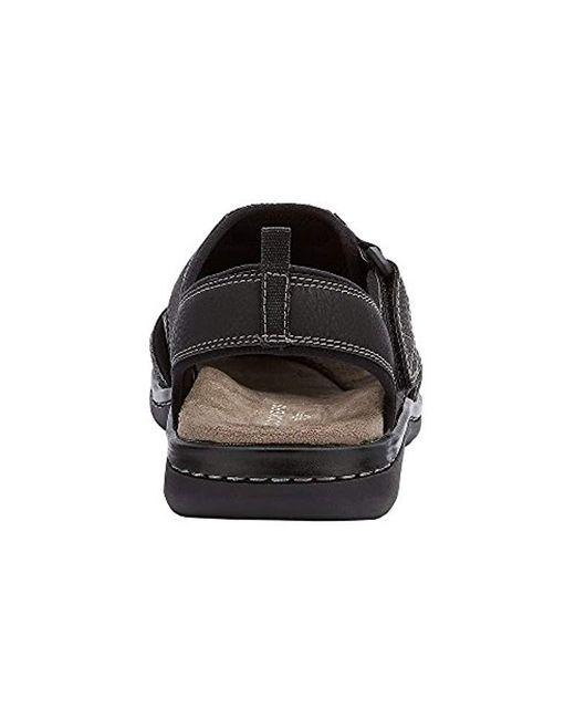 9d82735fbc0 Lyst - Dockers Searose Fisherman Sandal (black) Men s Shoes in Black ...