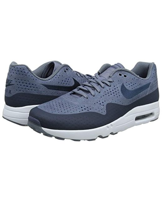 7cbf5405a48 ... Nike - Blue Air Max 1 Ultra 2.0 Moire Trainers for Men - Lyst ...