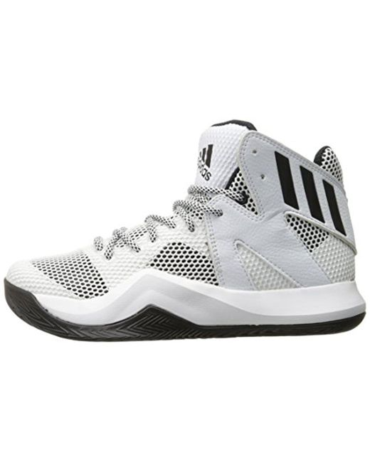 Lyst adidas performance pazzo rimbalzare basket scarpa in bianco per gli uomini.