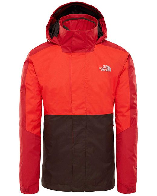The North Face Kabru Triclimate Funktionsjacke in Red für Herren
