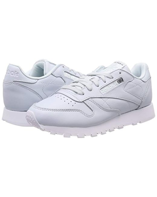 ce713bd8383 ... Reebok - Blue Classic Leather X Face Trainers - Lyst ...