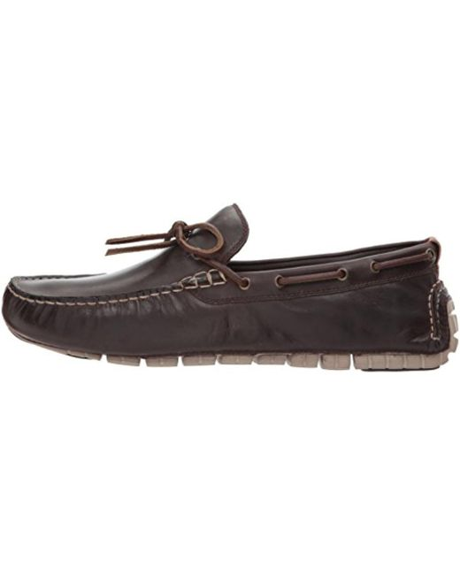 de8217f9e4637 ... Cole Haan - Multicolor Zerogrand Camp Moc Driver Driving Style Loafer  for Men - Lyst ...